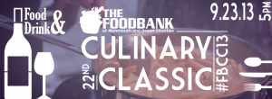 Food Bank Culinary Classic 2013