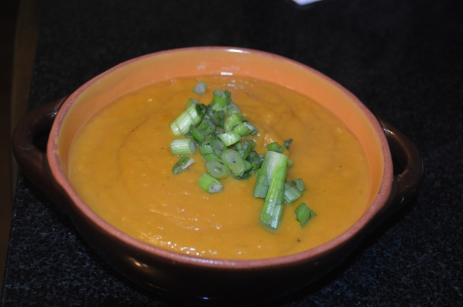 Sweet and Spicy Sweet Potato Soup