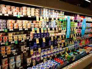 Hundreds of Yogurt Brands