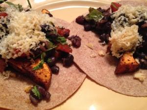 Hearty Vegetarian Tacos