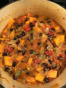 vegetarian quinoa stew