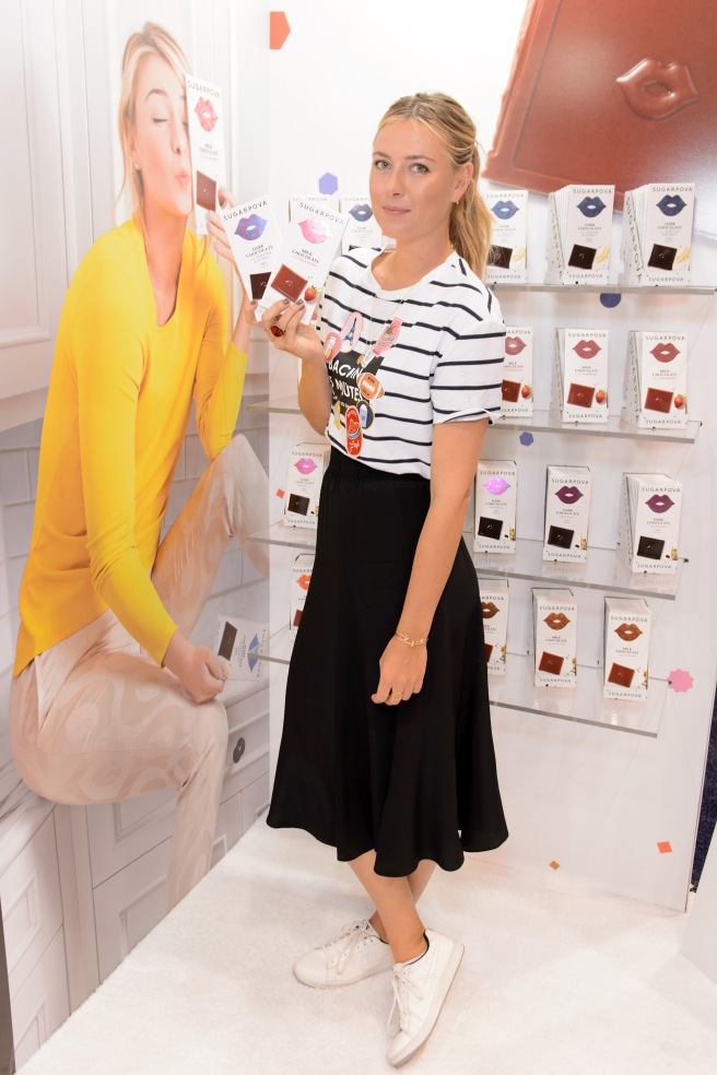 """Maria Sharapova Sugarpova Chocolate Launch At The Chicago Sweets & Snacks Expo"""